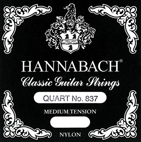 Hannabach 837 MT Quart Guitar Set, Scale 54-56cm (Spatula Viennese)