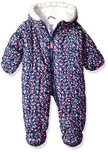 Carter's Baby Girl's Newborn Girls HW Prambag C217h72 Outerwear, Floral, 6/9M