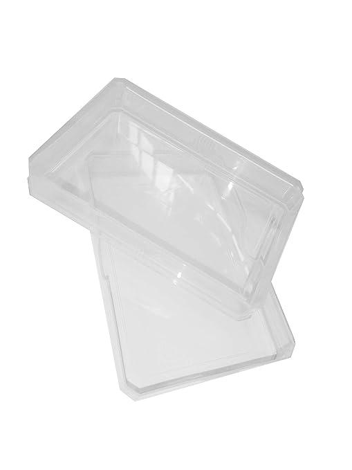 ATC cajas de caja de almacenamiento de plástico naipes caso ...