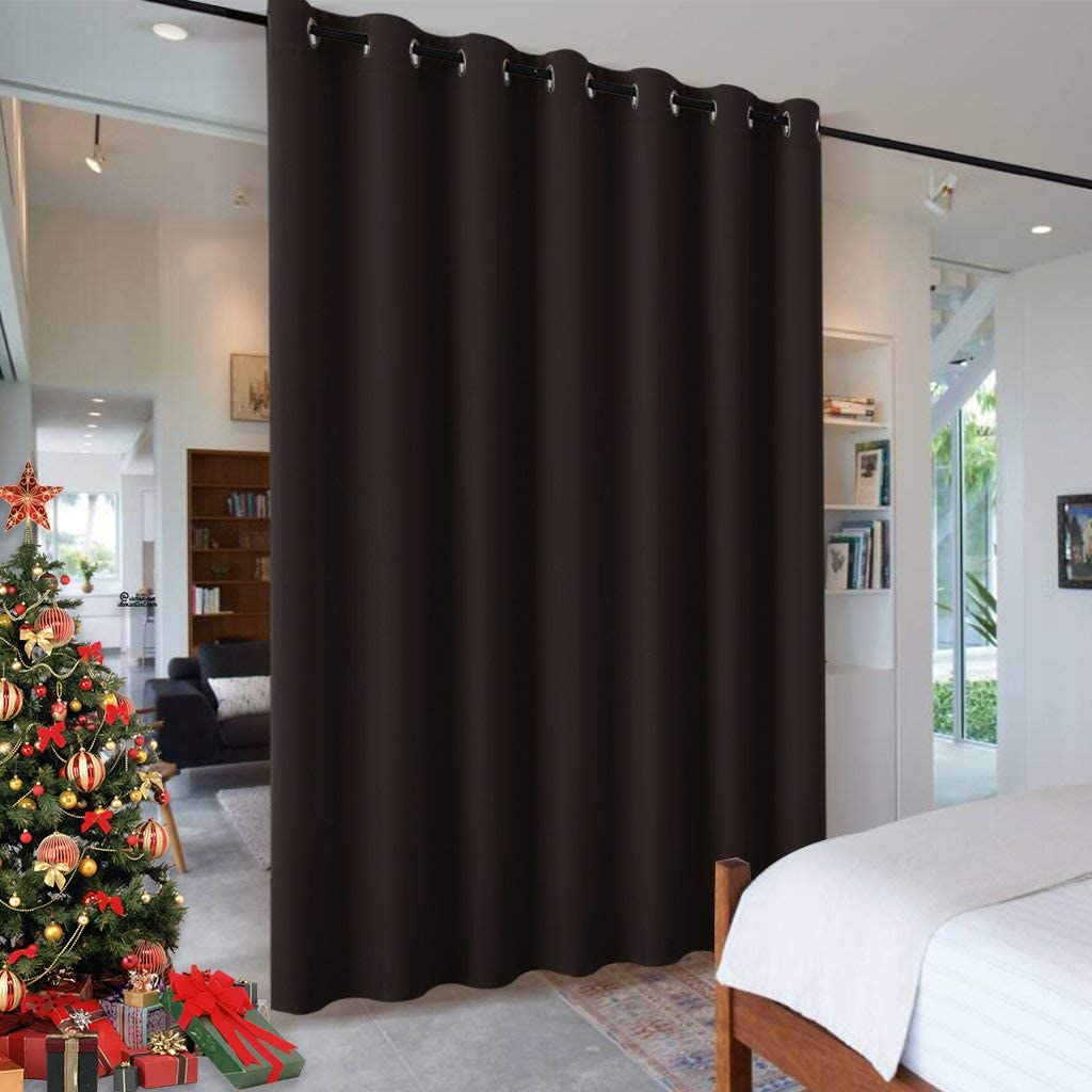 RYB HOME Blackout Room Dividers Noise Curtains Ranking TOP19 Reduce Cheap mail order shopping Grommet Pr