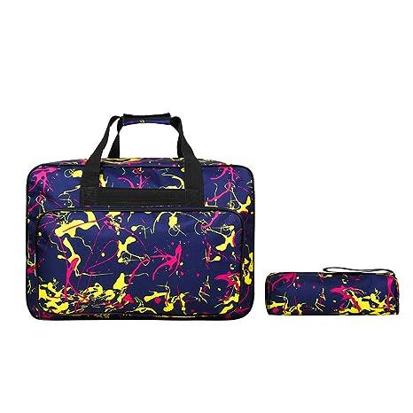 2pcs máquina de coser bolsas de mano, JanTeel universal de ...