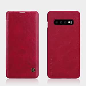 leather case forSamsung Galaxy S10 Qin RED