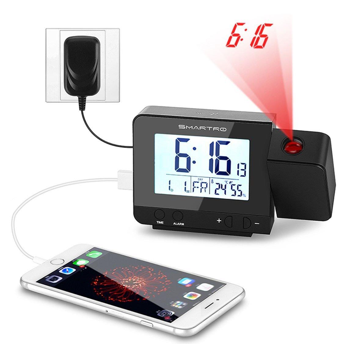 Despertador Digital con Alarma, SMARTRO Digital Projection ...