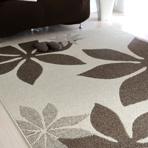 なかね家具 汚れに強い 撥水 ラグマット ホットカーペット対応 抗菌 日本製 アイボリー 4人掛け 180×220 162mag