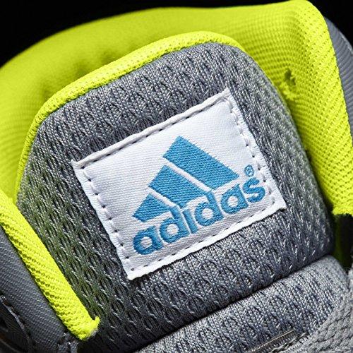 Adidas Cloudfoam Ilation Mid K, Scarpe da Basket Unisex – Bambini, Grigio (Gris/Azusol/Amasol), 38 EU