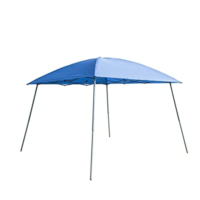 Gaier 8'x8' Ez Pop Up Canopy Out Door Party Tent Instant Shelter Gazebo with Carry Bag (8X8, Blue) : Garden & Outdoor