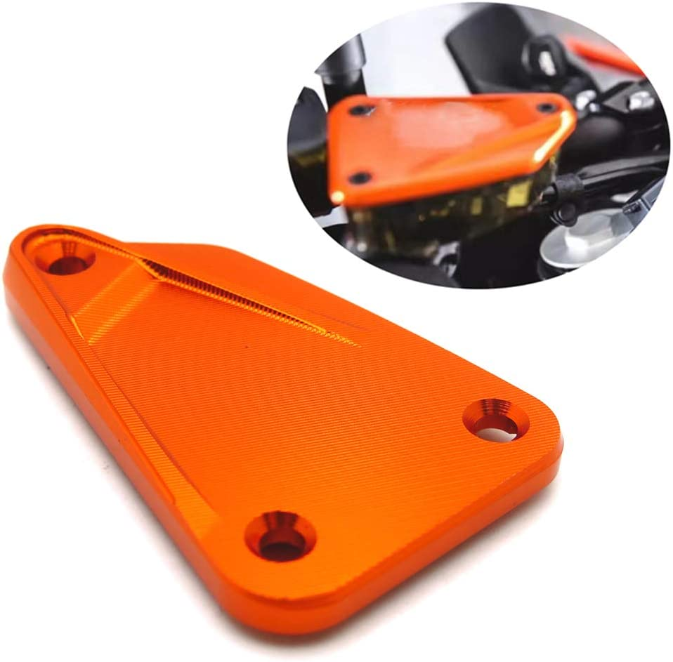 Front Brake Fluid Reservoir Cap Cover Compatible With KTM DUKE 790 2018 2019 ADV 790 18 19 NBX