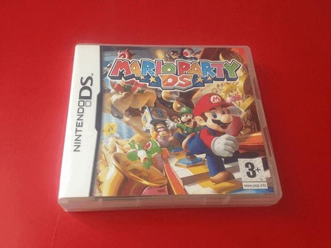 Mario Party Ds Juego Solo Cartucho Nintendo Ds En Espanol Multi