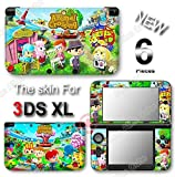 Animal Crossing New Leaf VINYL SKIN STICKER DECAL COVER #2 for Original Nintendo 3DS XL