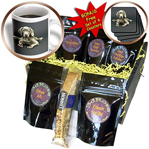 imaraner Puppy - Coffee Gift Baskets - Coffee Gift Basket (cgb_1094_1) ()