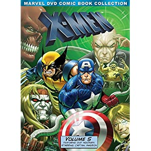 X-Men: Volume Five (Marvel DVD Comic Book Collection) movie