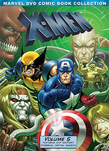 (X-Men: Volume Five (Marvel DVD Comic Book Collection))