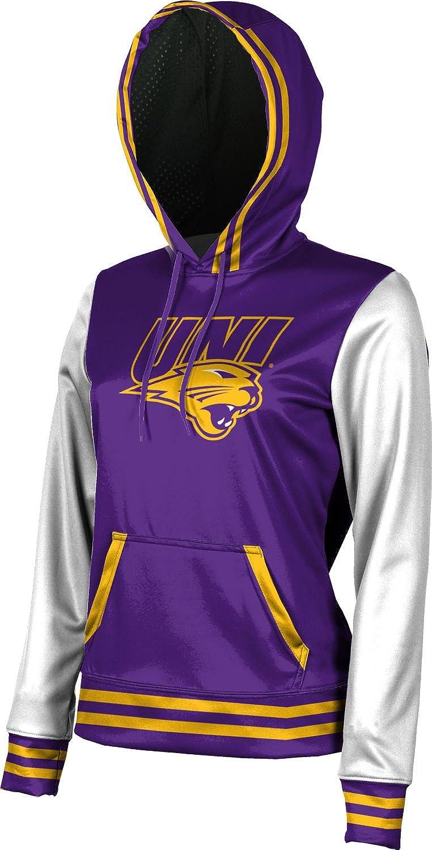 University of Northern Iowa Girls Pullover Hoodie Letterman School Spirit Sweatshirt