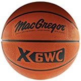 MacGregor X35Wc Rubber Basketball (Official Size)