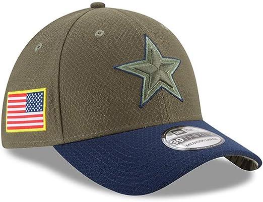 Salute to Service Dallas Cowboys New Era 39Thirty Cap