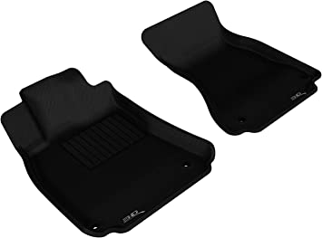 Passenger /& Rear Floor 2015 2017 2018 Ford C-Max Black with Red Edging Driver 2014 2016 GGBAILEY D50560-S1A-BLK/_BR Custom Fit Car Mats for 2013