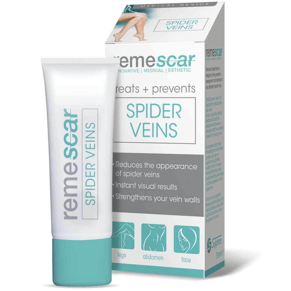 remescar spider veins review