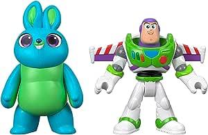 Mattel Imaginext Disney Toy Story 4 Pack de 2 Figuras Buzz Lightyear y Bunny, Juguetes Niños +3 Años (GBG91): Amazon.es: Juguetes y juegos