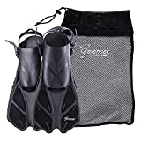 #4: Seavenger Swim Fins / Flippers with Gear Bag for Snorkeling & Diving, Perfect for Travel