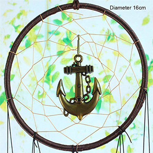 WDDH Dream Catcher,Dream Catcher Wind Chimes Outdoor Wall Hanging Home Decoration Hanging Ornament Gift Portable Metal Garden Wind Chimes