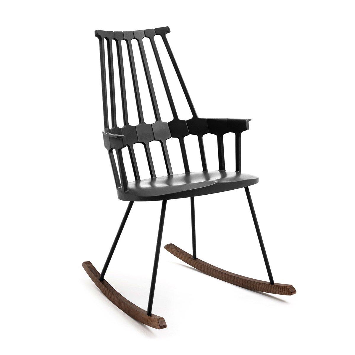 Sensational Kartell Comback Rocking Chair Black Amazon Co Uk Kitchen Forskolin Free Trial Chair Design Images Forskolin Free Trialorg