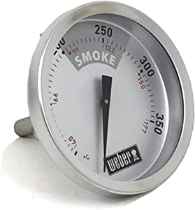 "Weber 63029 Temperature Gauge for 22.5"" Smokey Mountain Cooker"