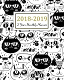 2018 - 2019 2 Year Monthly Planner: 2018 - 2019 Two Year Planner | Daily Weekly And Monthly Calendar | Agenda Schedule Organizer Logbook and Journal ... Cover (24 Month Calendar Planner) (Volume 7)