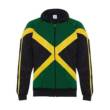 Jl Sport Negro Rasta Reggae Hombre Abada Capoeira Brasil entrenamiento de artes marciales de la chaqueta de manga larga (L): Amazon.es: Deportes y aire ...