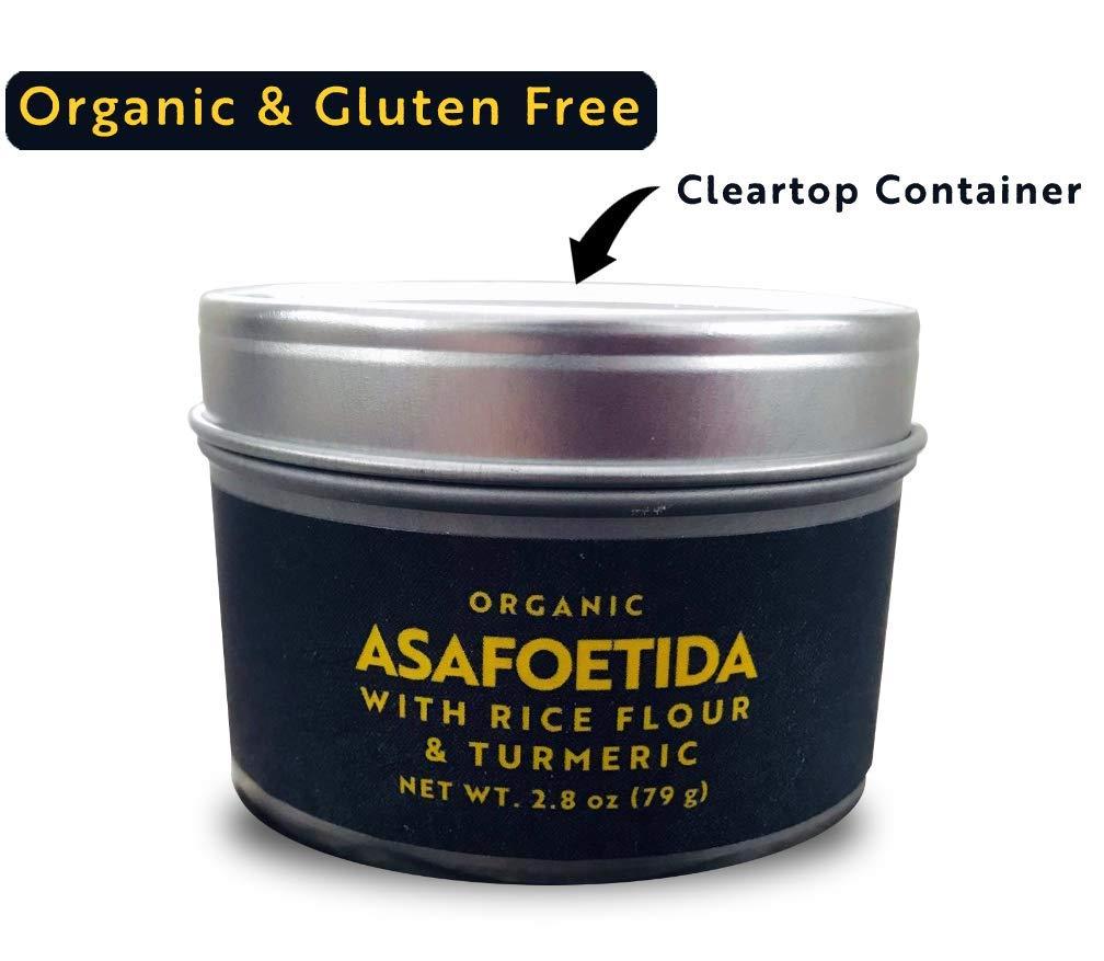 Inner Flame Asafoetida (Hing) Organic and Gluten Free 2.8 OZ