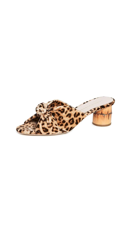 0e148d56ac6a2 Amazon.com: Loeffler Randall Women's Celeste Mid Heel Knot Slide ...