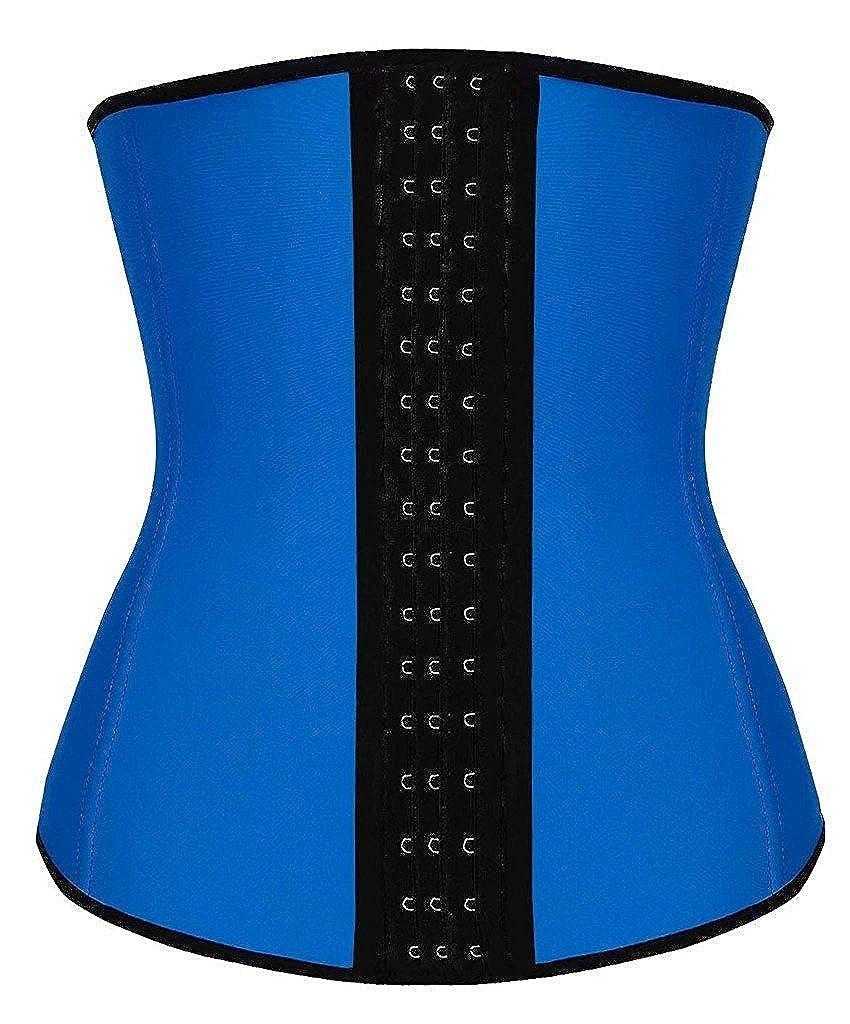 Dilanni Women's Breathable Elastic Waist Trainer Cincher XS to 6XL Lace Shapewear Steel Boned Corset MOMO-025A