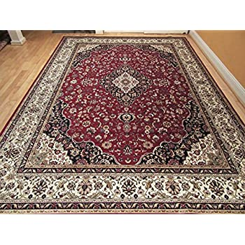 Silk Rug Red Persian Area Rug Traditional Silk Rugs Living Room Accent Rug  5x7 Rug Soft Silk Office Rugs 5x8 Carpet High End Low Pile Silk RugsAmazon com  Silk Traditional Turkish Design Rug 5x7 Rugs Silk 5x8  . Red Rugs For Living Room. Home Design Ideas