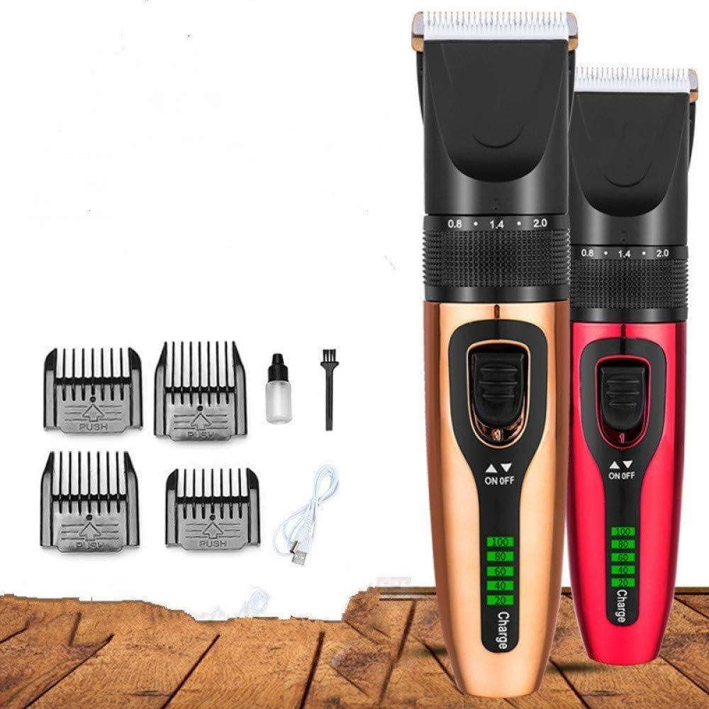 Cortadora de cabello para hombres con pantalla digital LCD Cortadora de cabello Cortadora de cabello calvo Maquinilla de afeitar para barba adecuada para cargar varios dispositivos