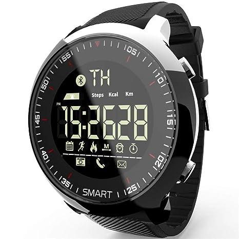 QTEC Reloj Inteligente Smart Watch Sport Podómetros Impermeables ...