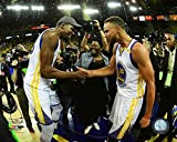 kevin durant pics - Golden State Warriors Stephen Curry & Kevin Durant After The 2017 NBA Finals. 8x10 Photo Picture (h5)