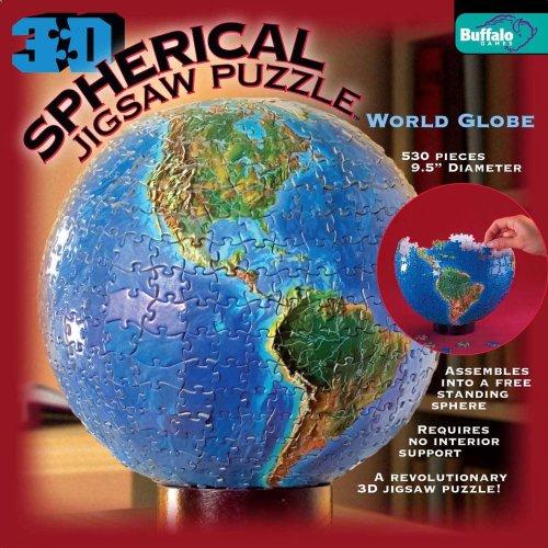 Brand New & Sealed - 3D Spherical Jigsaw Puzzle World Globe