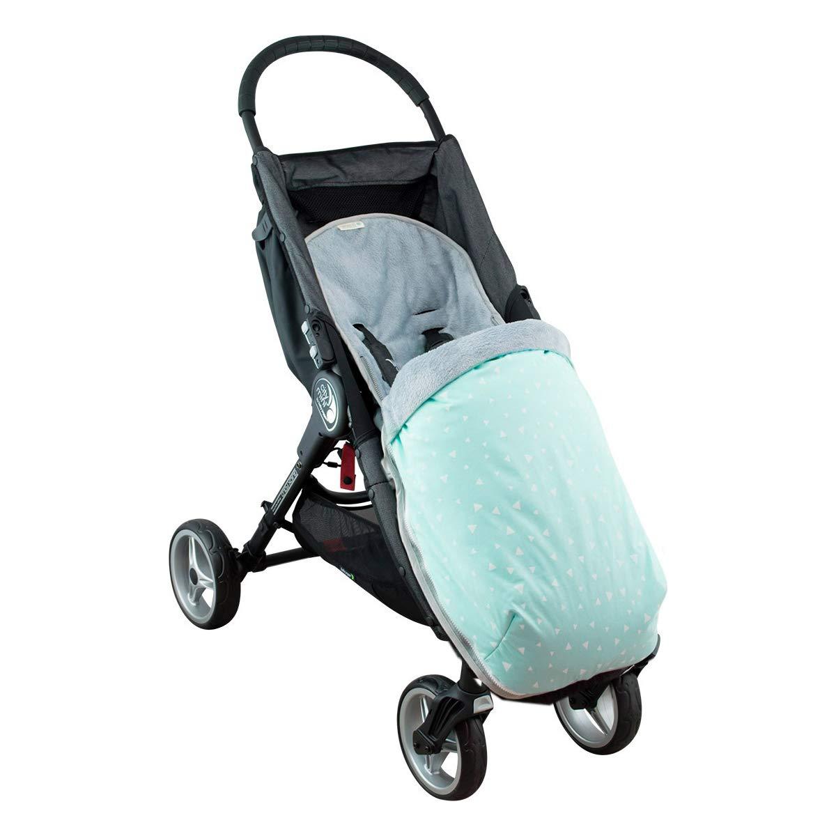 JANABEBE Sacco impermeabilizzato per Baby jogger City Mini Joolz BLACK SERIES, COTONE