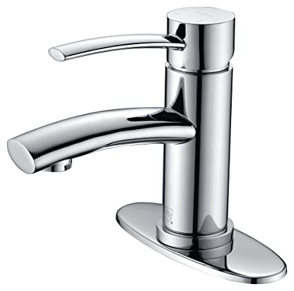 Purelux Bathroom Sink Faucet Contemporary Design One Handle with ...