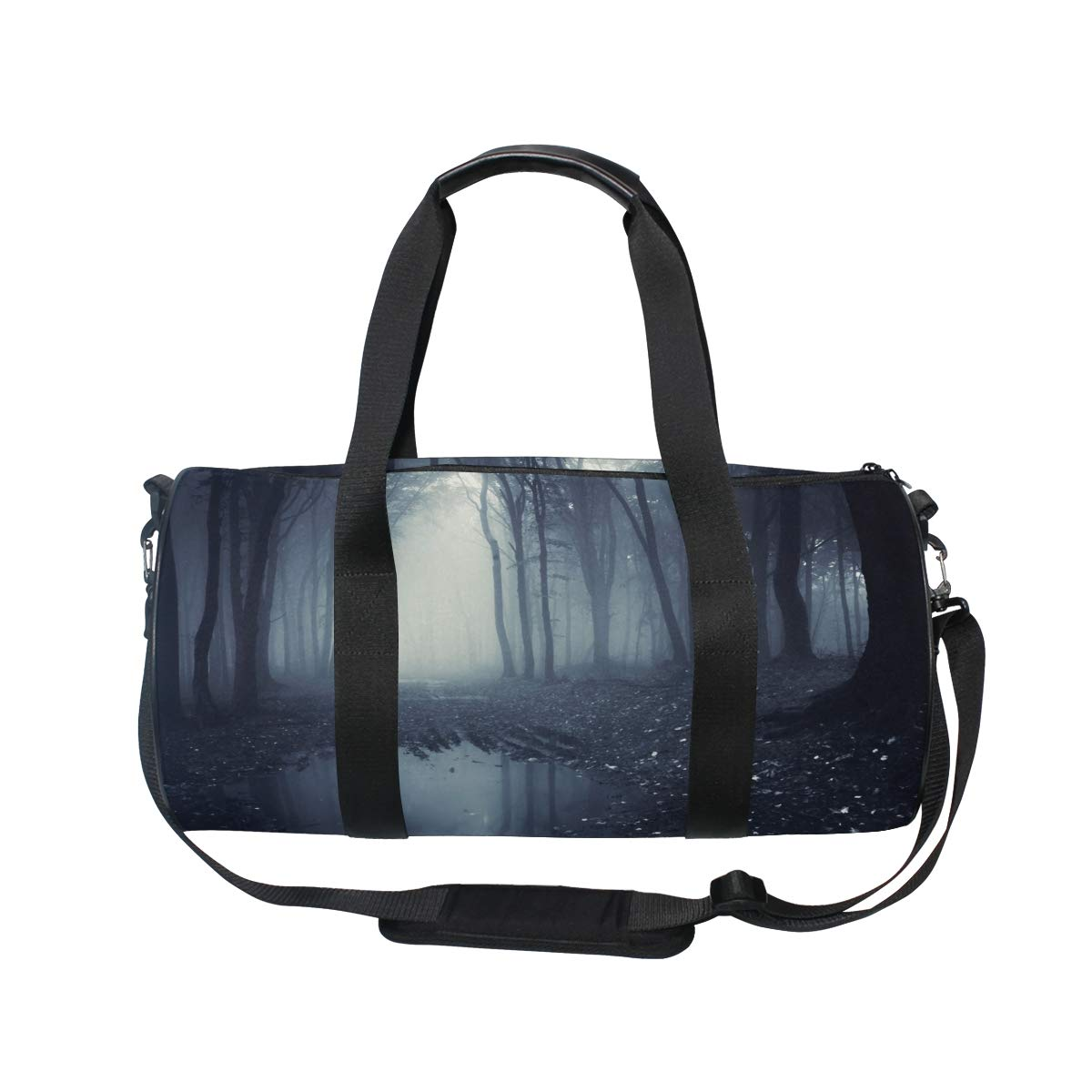 Sports Gym Bag Travel Duffel Bag with Pockets Luggage & Travel Gear Shoulder Strap Fitness Bag by EVERUI (Image #2)
