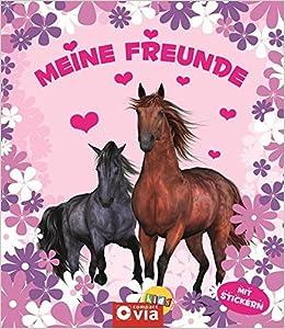 Meine Freunde: Pferde: Freundebuch Mit Stickern Für Pferde Fans: Amazon.de:  Bücher