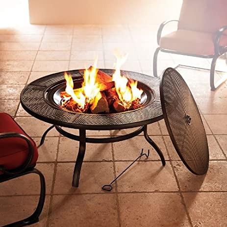 sonoma outdoor fireplace. SONOMA outdoors Fire Pit TableAmazon com Table  Garden Outdoor Sonoma Fireplace Gas with CF 1224