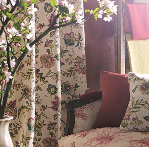 (IYUEGO Japanese Print Multi Floral Grommet Top Window Curtains/Drape/Panels/Treatment 50