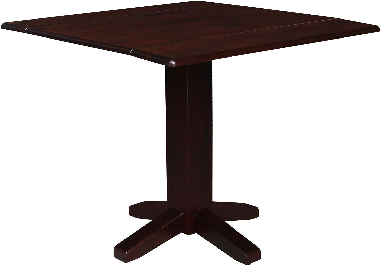 International Concepts Drop Leaf Dropleaf Table