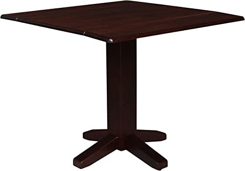 International Concepts Drop Leaf Dropleaf Table