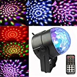Party Lights Strobe Lights Sound Activated with Remote Controller for Home Room Dancing Show Birthday Xmas Parties Karaoke Pub (5 colors)