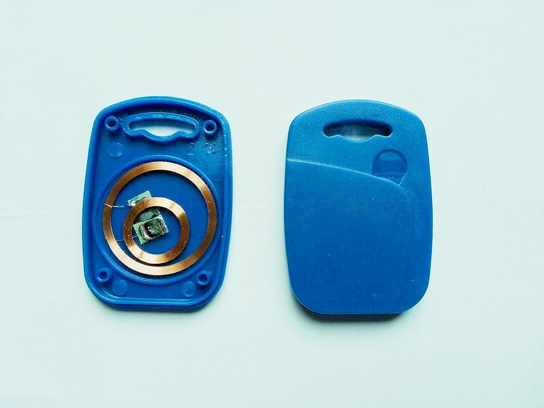 3X T5577 + UID Dual Chip Token RFID Key Card Writable Proximity Keyfob Tag Qiongshun