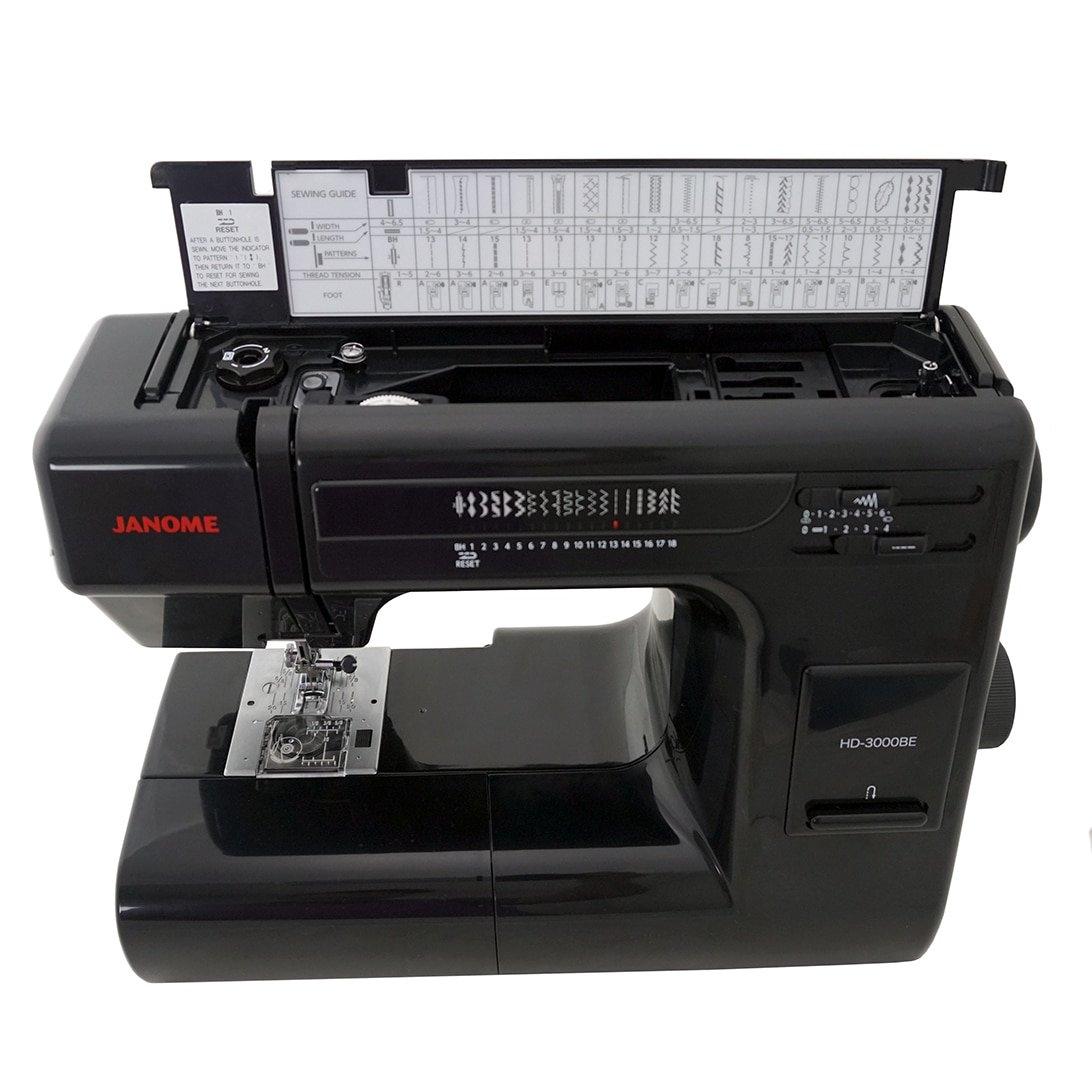 Janome HD3000BE Sewing Machine Black by Janome
