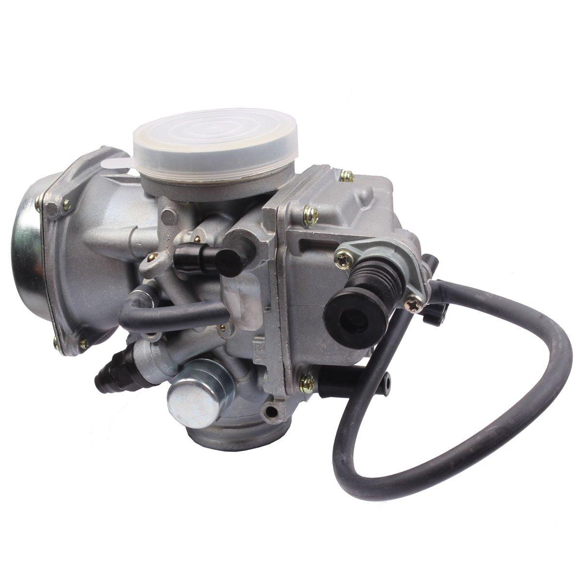 HONDA TRX350 ATV CARBURETOR TRX 350 RANCHER 350ES/FE/FMTE/TM/CARB 2000-2006 TRX300 1988-2000 TRX400 TRX 400FW Foreman CARB, TRX 450 Carburetor TRX450FE 450FE FE Foreman CARB by BETOOLL (Image #5)