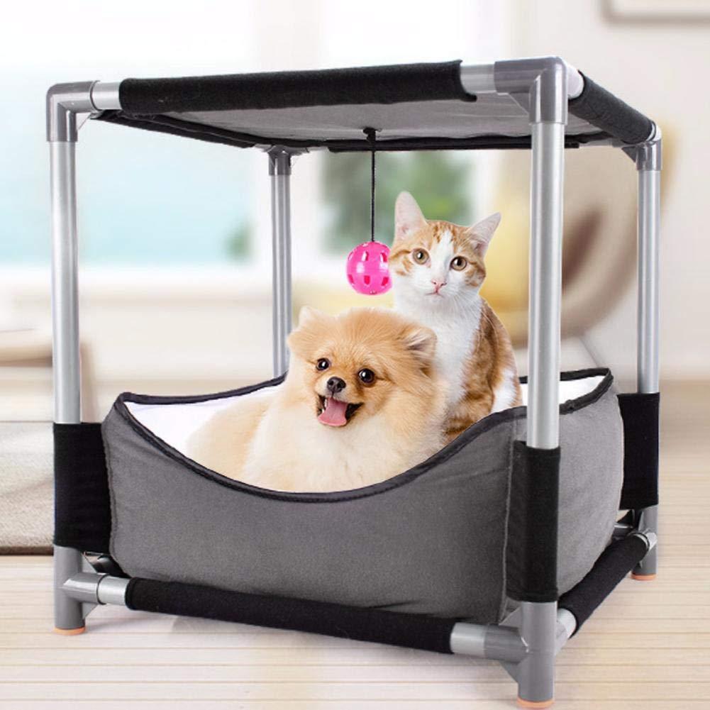 alta qualità Cuckoo-X Creative Cat Climbing Climbing Climbing Frame Double Cat Bed Cat Jumping Piattaforma Gatto Giocattolo Staccabile Combinazione lettiera  consegna diretta e rapida in fabbrica