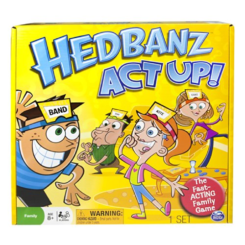 Spin Master Games Hedbanz Act product image